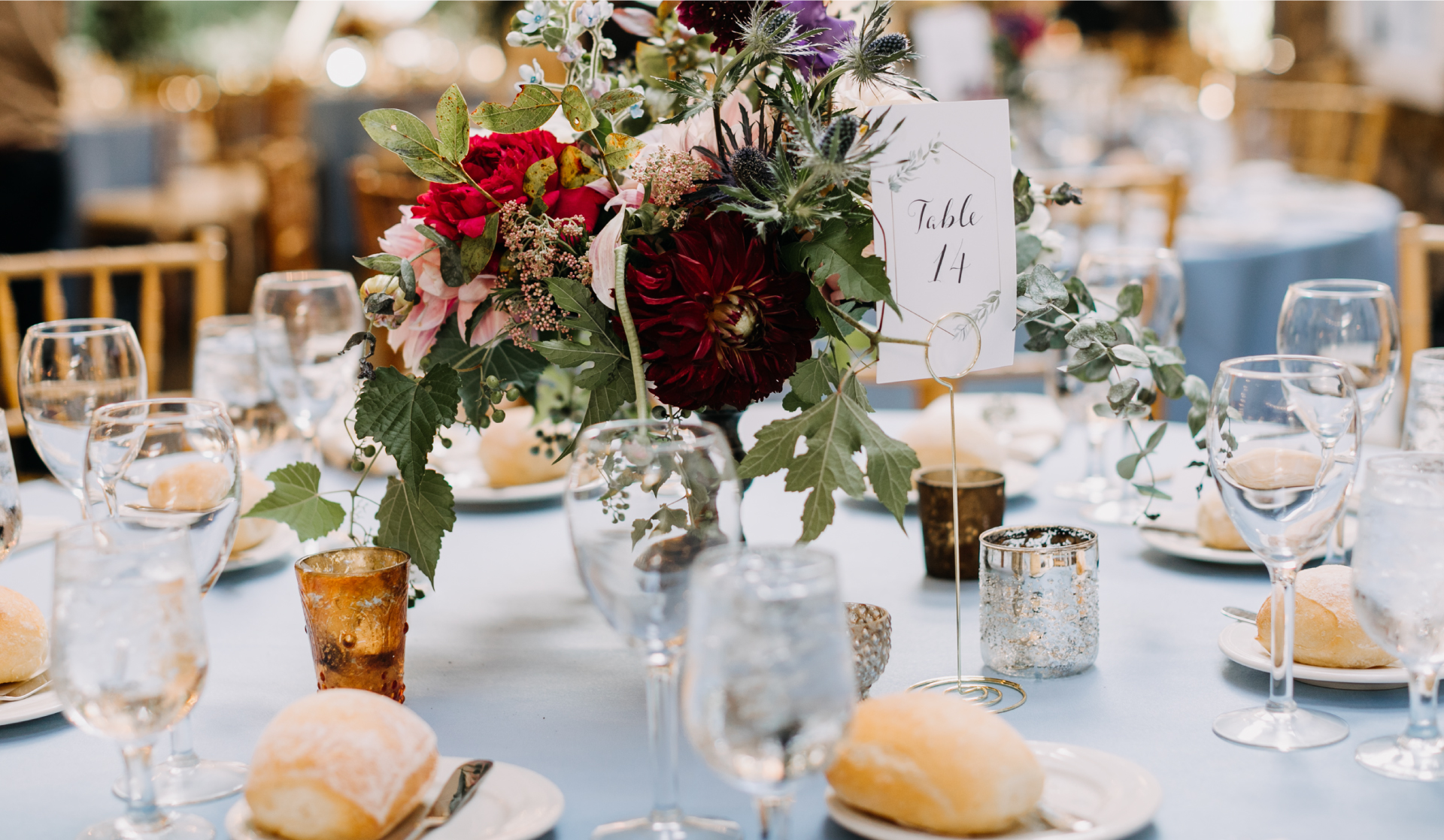 beautiful table setting for a special event